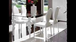 increibles diseños de mesas de comedor