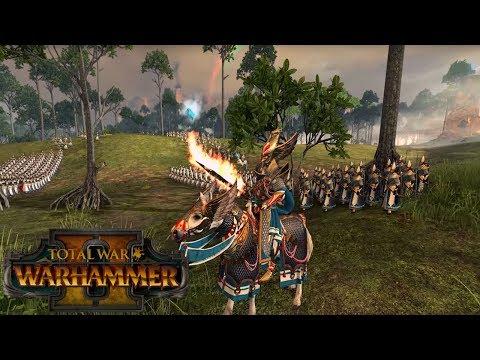 High Elf Gameplay - Lore & Unit Breakdown | Total War: Warhammer 2