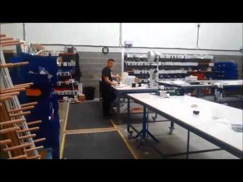 Factory Tour of The Curtain Pole and Track Company