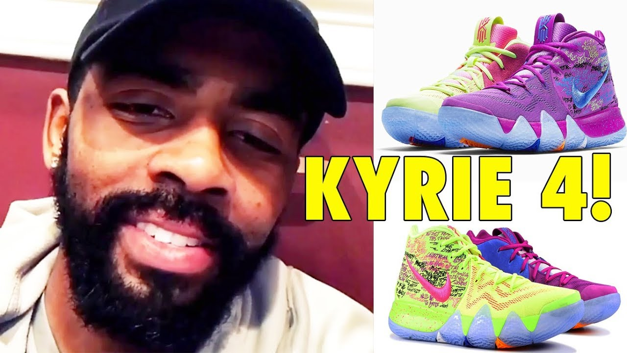online retailer dae25 c36fb Kyrie Irving unveils his NEW 2018