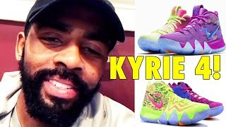 Kyrie Irving unveils his NEW 2018