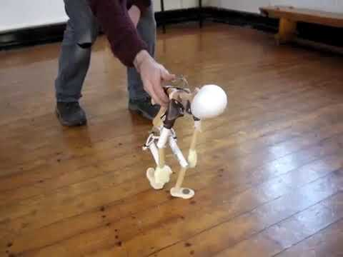 Table top puppet making workshop for adults - video of results!