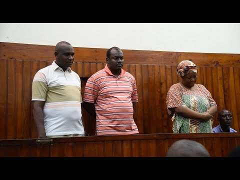 Three suspects face murder charges of Mombasa businessman