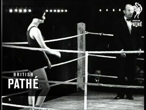 Lady Wrestlers 1930 Youtube