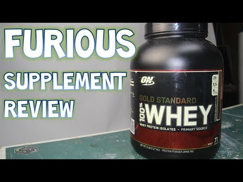 Optimum Gold Standard 100% Whey Protein Supplement Review | Furious Pete Supplement Review