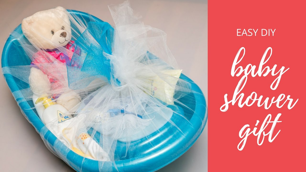 Easy Baby Shower Gift Idea Youtube