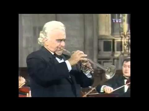 Maurice André: Concerto in Eb for Trumpet & Orchestra - 2nd & 3rd mov. (F. J. Haydn)