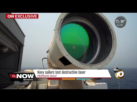 Navy tests destructive Laser Weapons System