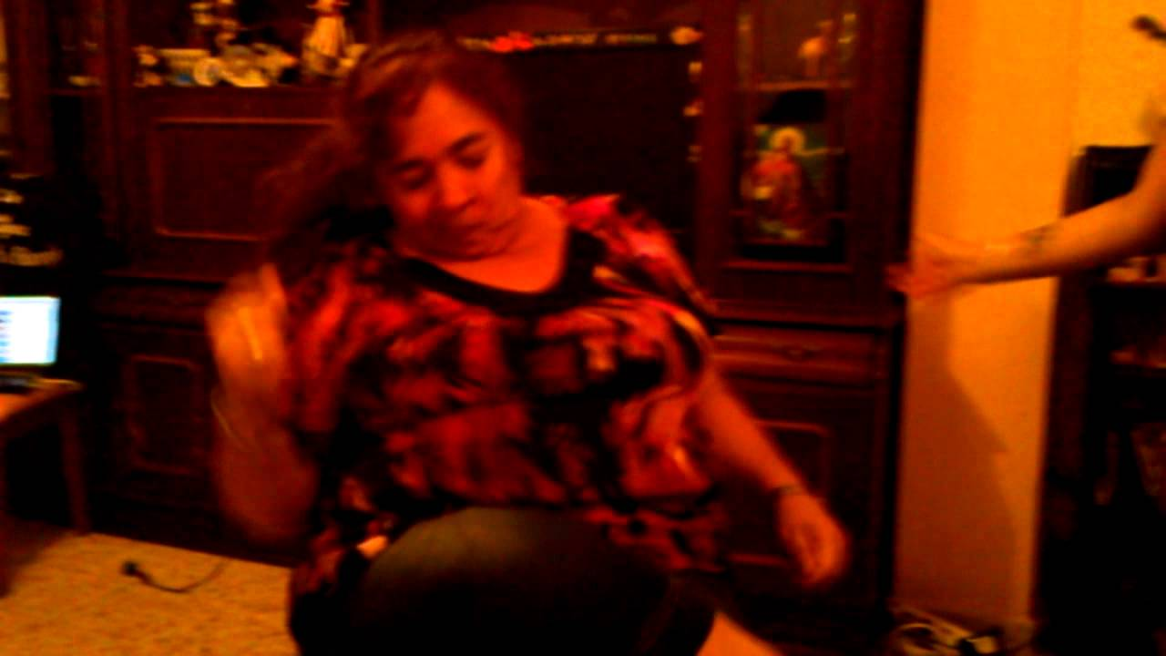 bailando tía
