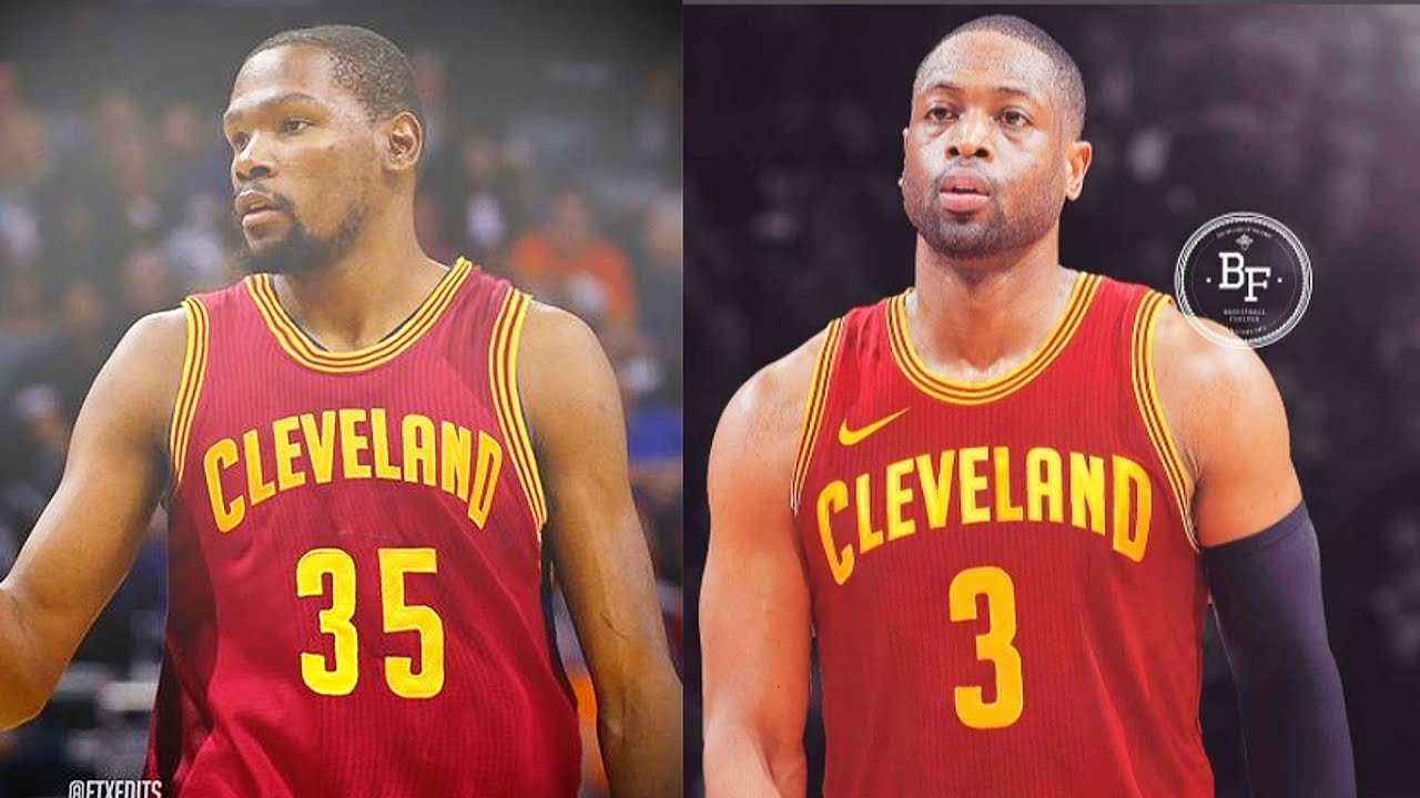 on sale c381f 3eecf Kevin Durant Joins Cavaliers After Dwyane Wade Signs with Cavaliers | NBA