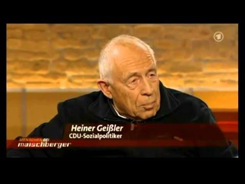 Heiner Geißler   Kapitalismuskritik