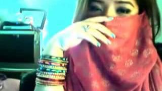 Arab Cute Girl Singing Hindi Song - Shukran Allah Kurbaan 2009- nadeemmunir579