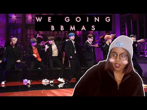 BTS SNL Boy With Luv LIVE Performance REACTION (BTS REACTION)