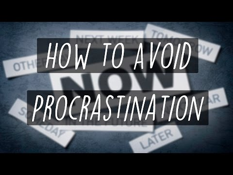 Avoiding procrastination saves me a ton of time and energy in my life
