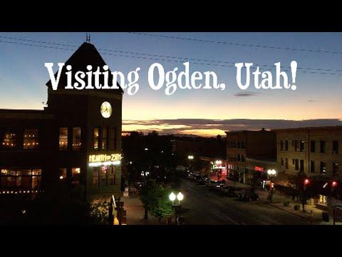 Visiting Ogden, Utah!