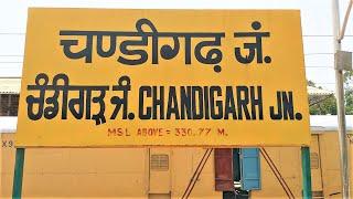 Chandigarh Junction Railway Station (New).!