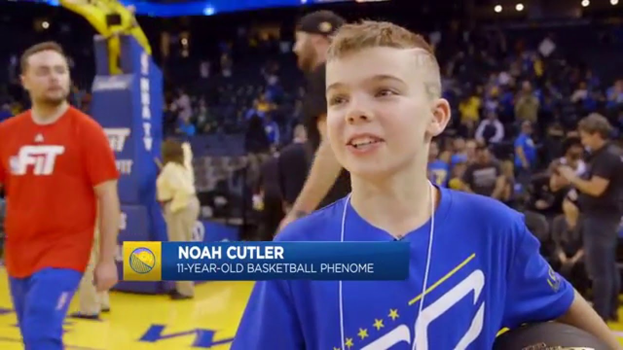 87346138275c 11-Year-Old Kid Shows Off His Handles on Warriors Ground - YouTube