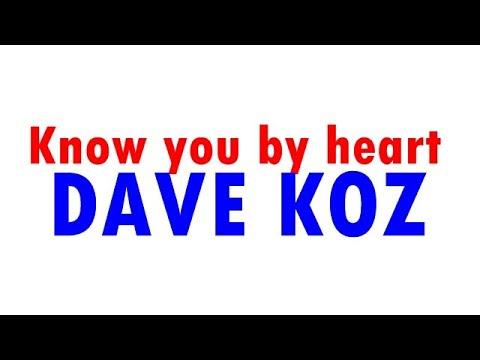Dave Koz Know you by Heart (Playback) Sax Alto Eb