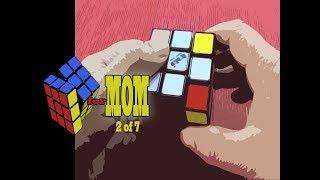 Beginner's Rubik's Cube Solution for My Mom (2 of 7)