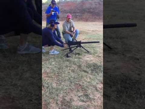 Browning 1919 Full Auto Slow Mo