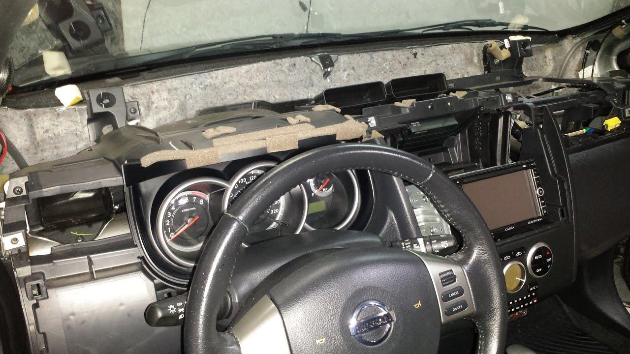 Desmontagem Completa Do Painel Do Nissan Tiida