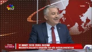15/11/2018 ÖZEL GÜNDEM - İSA GÜL / MESUDİYE BELEDİYE BAŞKANI