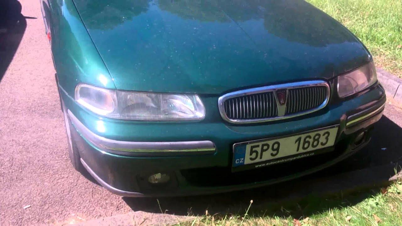 Rover 414SI Мини Обзор (Czech Republic) mini review