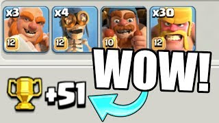 THE HIGHEST TROPHY OFFER EVER IN THE BUILDERS VILLAGE!? - Clash Of Clans