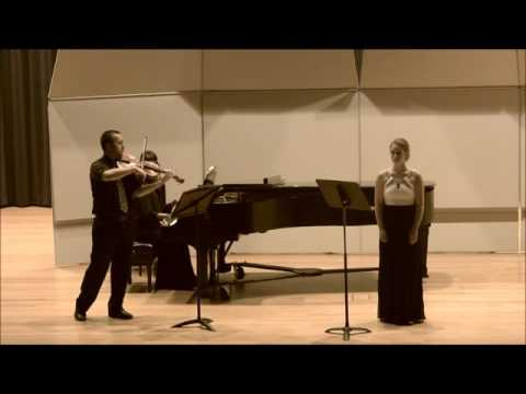 Three songs for Mezzo-Soprano, Viola and Piano by Frank Bridge