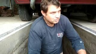 Смотровая яма в гараж часть 3.