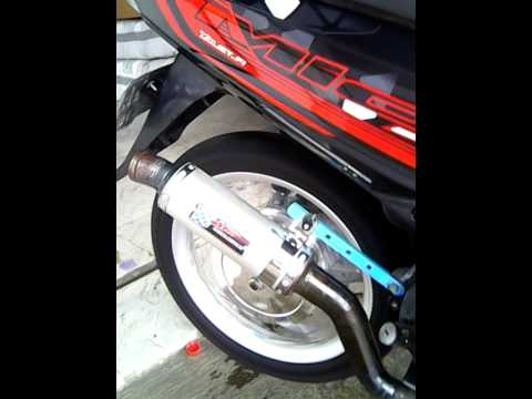 Mio 150cc tenaga full bore up..