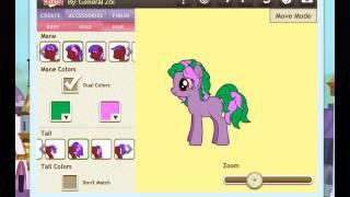 Игра пони креатор 3 - создаю свою пони (чит. опис.)