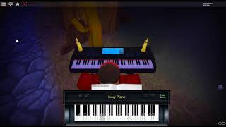 La Valse D'Amelie - Amélie by: Yann Tiersan on a ROBLOX piano.