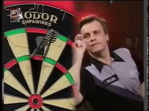 Keith Deller v Dennis Smith - 1997 World Darts Championships Part 5/6