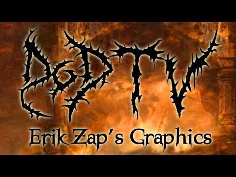 A look into Erik Zap's Graphic's creating Day of Doom bass drum head art
