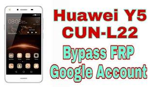 Huawei Y5 II CUN-L22 Bypass FRP Google Account (Tanpa PC)