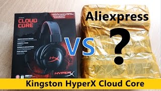 Kingston HyperX Cloud Core с Aliexpress