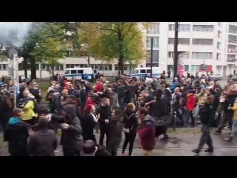Fuckparade 2016 Berlin-Friedrichshain (Bersarinplatz)