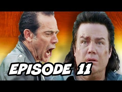 The Walking Dead Season 7 Episode 11 - TOP 10 WTF and Easter Eggs