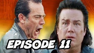 Video The Walking Dead Season 7 Episode 11 - TOP 10 WTF and Easter Eggs download MP3, 3GP, MP4, WEBM, AVI, FLV November 2017