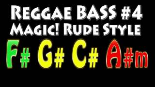 Reggae Backing Track for Bass #4 Magic Rude Style