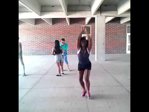 Shaw High Junior Varsity SPIN JUMP