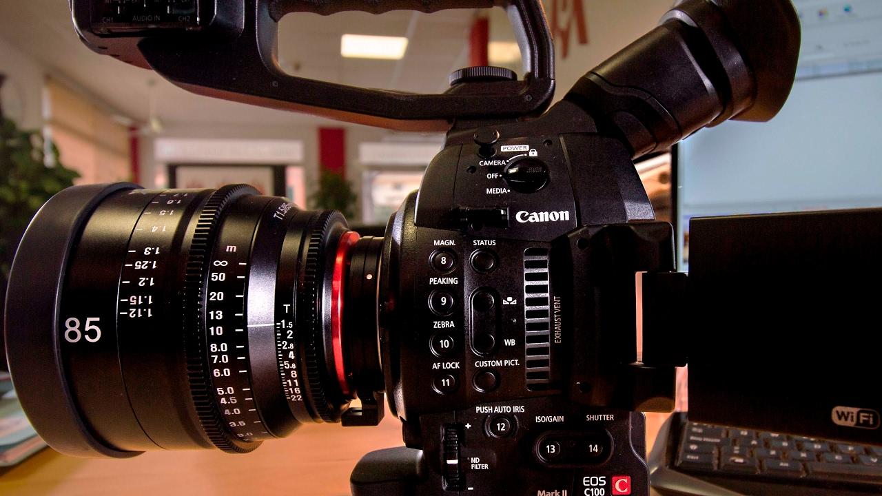 Canon C100 Mark II First impression