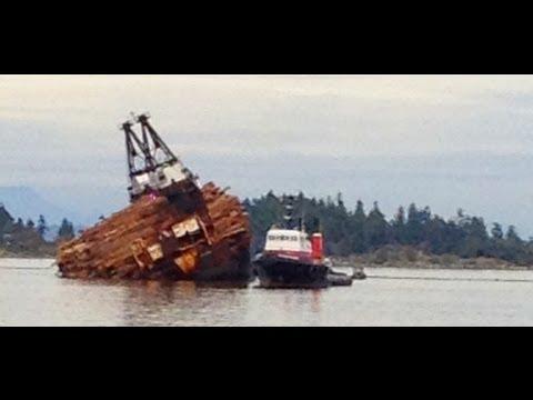 West Coast Log Dump Ship
