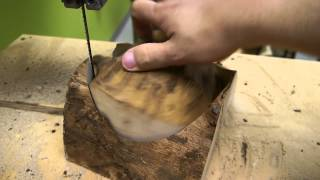 Bandsaw Circle Jig For Bowl Blanks