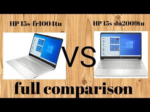 HP 15s-du2009tu Vs HP 15s-fr1004tu Full Comparison in Hindi |Full Detail | hp laptop full comparison
