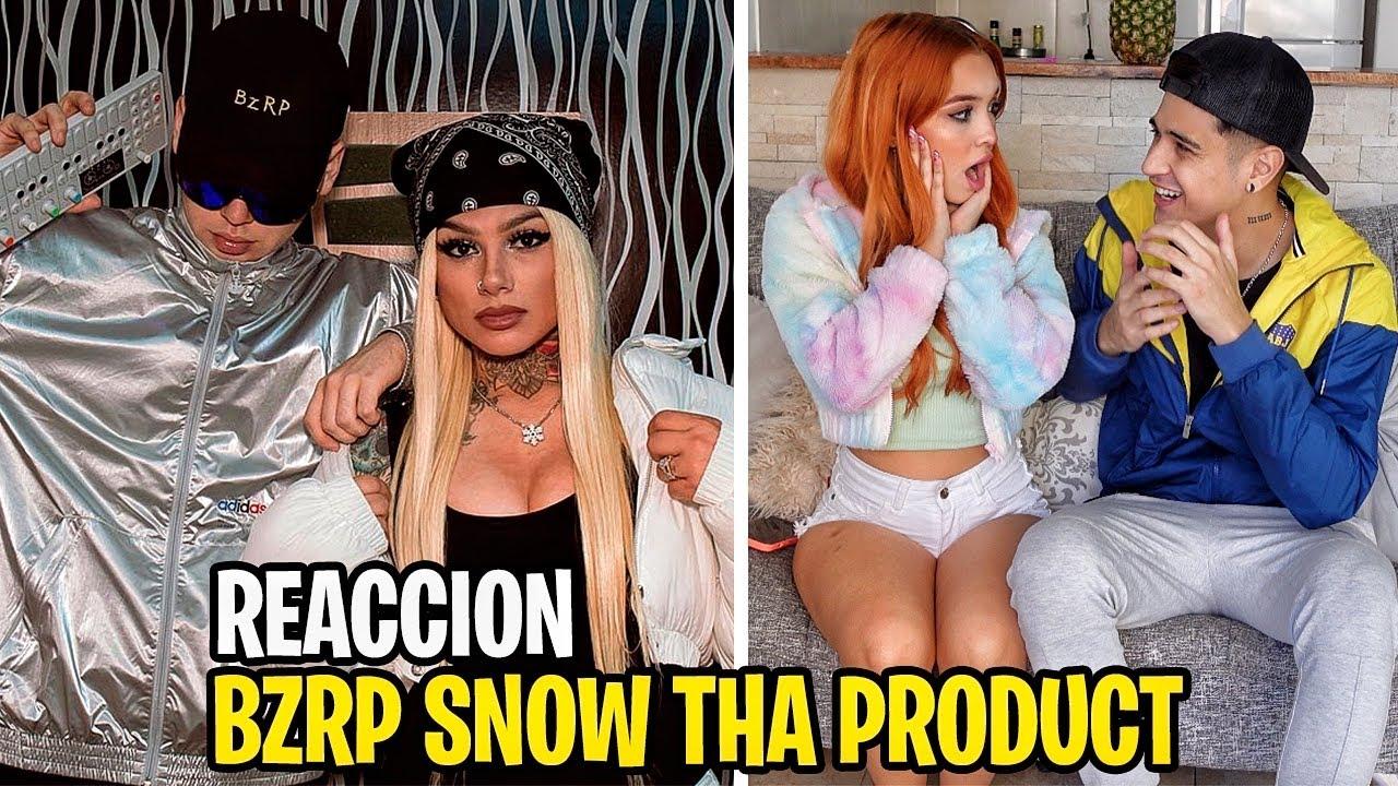 REACCION con MI AMIGA a Snow Tha Product || BZRP Music Sessions #39 *la mejor sessions*