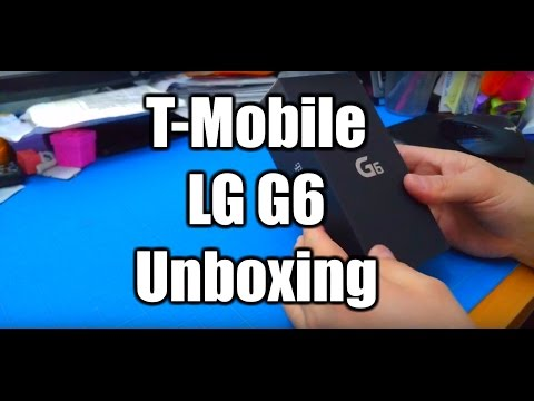 LG G6 T-Mobile USA Unboxing 3/23/2017