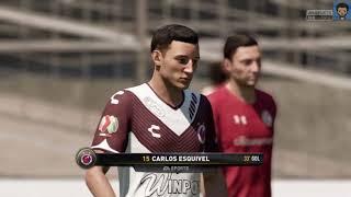 Toluca vs Veracruz (jornada 16) FIFA 18