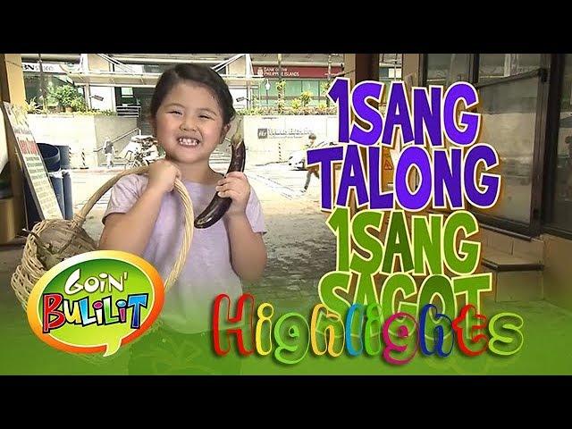 Goin' Bulilit: Chunsa interviews a janitor at 'Isang Talong Isang Sagot'